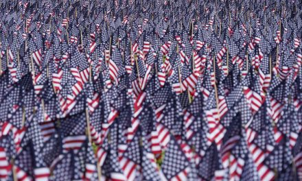 A Field of Flags: Milwaukee's War Memorial Center honors fallen soldiers with 7,056 flags