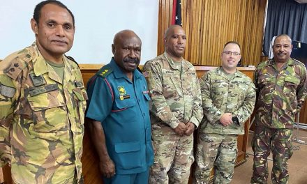Chris Meza: Wisconsin National Guard officer builds partnerships in Papua New Guinea during pandemic