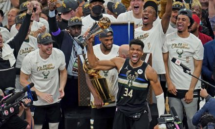 Giannis Antetokounmpo ends Milwaukee's 50 year wait with first NBA championship win for Bucks since 1971