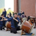 Milwaukee-based Taiko group promotes Japanese art exhibit with free drum performance at The Warehouse