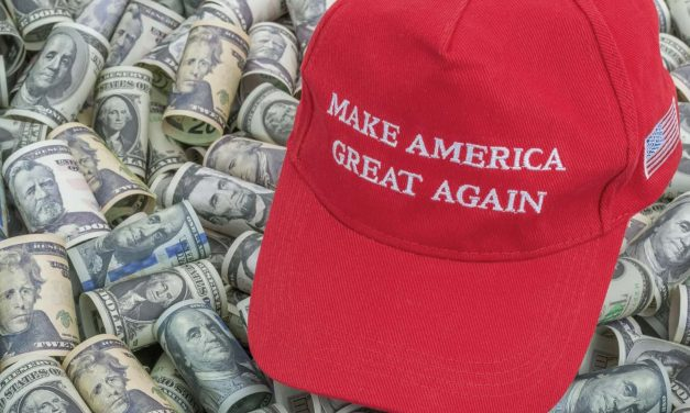 Money Hustling: Trump proves that sedition, treason, and conspiracy theories are pretty profitable