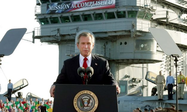 A Memory Hole: When lies leading to war are easier to swallow than the truth about needing to leave