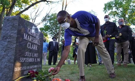 George Marshall Clark: Unmarked grave of Milwaukee lynching victim gets headstone after 160 years